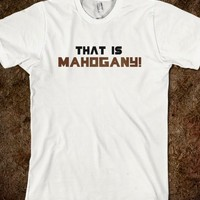 That is Mahogany! - Occupation: Fangirl, Obsession: Glee + THG