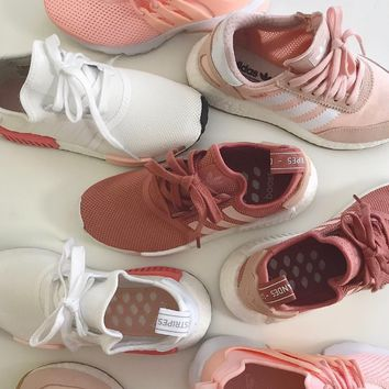 Adidas/Nike Trending Pink Casual Running Sport Sneakers Shoes ❀