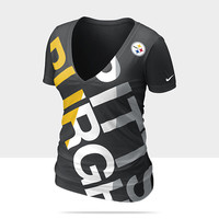 Check it out. I found this Nike Off-Kilter Tri-Blend (NFL Steelers) Women's T-Shirt at Nike online.