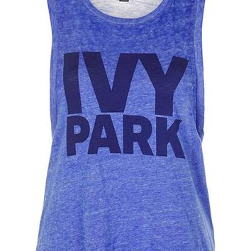Drop Armhole Tank by Ivy Park - Ivy Park - Clothing