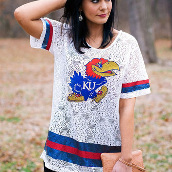 GAMEDAY Lace Jersey - KANSAS