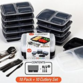 Meal Prep Containers 10 Sets