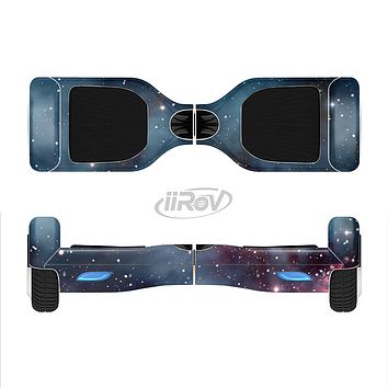 The Bright Pink Nebula Space Full-Body Skin Set for the Smart Drifting SuperCharged iiRov HoverBoard