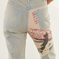 Gotcha X UO Patch Denim High-Rise Jean | Urban Outfitters