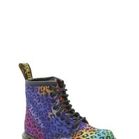 Toddler Girl's Dr. Martens 'Brooklee - Psych Leo' Boot