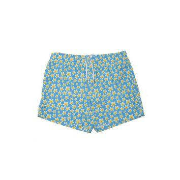 Bermies Originals Frangipani Trunks Blue