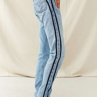 Urban Renewal Recycled Double Knit Striped Levi's Jean | Urban Outfitters