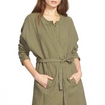 Women's Madewell Cotton Duster Jacket,