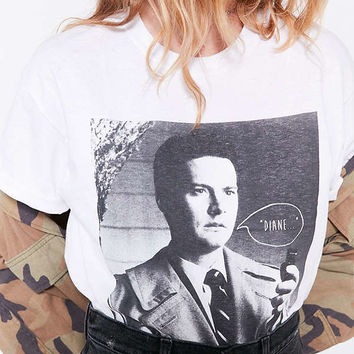 Twin Peaks Agent Cooper Tee | Urban Outfitters