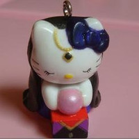 super kawaii hello kitty gypsy fortune teller necklace by houseofv