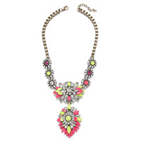 Pink Lemonade Drop Necklace