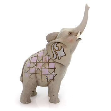 Jim Shore Elephant Mini Figurine