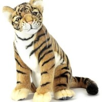 Hansa Sitting Tiger Cub Plush