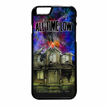 Pierce The Veil Band All Time Low Poster Galaxy Parody iPhone 6 Plus Case