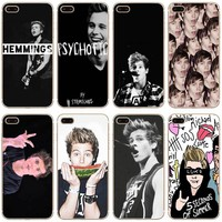 Luke Hemmings Transparent Hard Thin Case Cover For Apple iPhone 4 4S 5 5S SE 5C 6 6S 7 8 X Plus