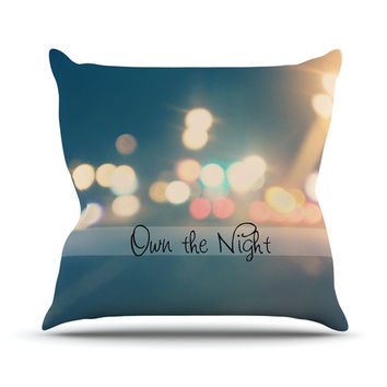 "Beth Engel ""Own The Night"" Throw Pillow"