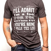 Men's Cash I'm A Fool For You Cotton T-Shirt