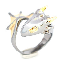 MONVATOO London: Black Knight Dragon Ring, at 15% off!