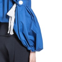 Runway Forearm Sleeves In Coated Poplin Women | Marni Online Store