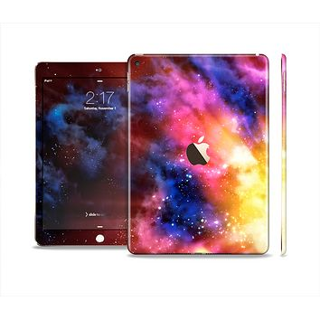 The Super Nova Neon Explosion Skin Set for the Apple iPad Air 2