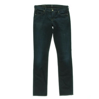 Citizens of Humanity Womens Rocket High-Rise Dark Wash Skinny Jeans