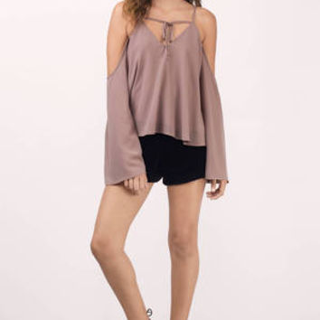 Coleen Cold Shoulder Blouse