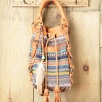 Old Trend Jacquard Bucket Bag at Free People Clothing Boutique