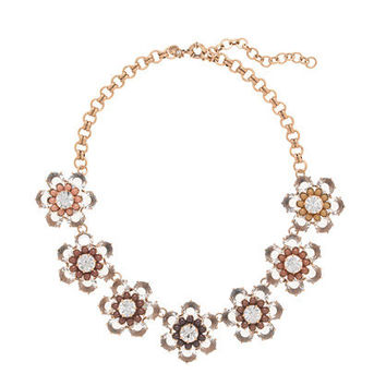 Black and white bloom necklace - necklaces - Women's jewelry - J.Crew