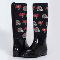 Tampa Bay Buccaneers Cuce Shoes Women's Enthusiast II Rain Boots – Black - http://www.shareasale.com/m-pr.cfm?merchantID=7124&userID=1042934&productID=525388502 / Tampa Bay Buccaneers