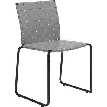 Beckett Outdoor Dining Chairs, Light Gray (Set of 4)