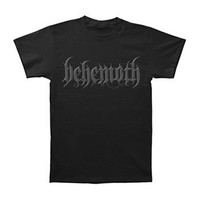 Behemoth Men's  Logo T-shirt Black