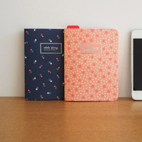 PLEPLE Ololo flower pattern undated small diary scheduler