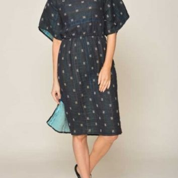 Ace & Jig - Ray Dress in Checkerdot | ShopTwig