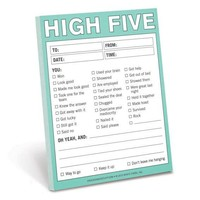 High Five Nifty Recognition Notepad – Give High-Fives That Last!