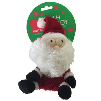Christmas Fuzzyard Santa Small