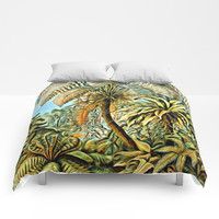 TROPICAL JUNGLE Comforters by Digital Effects