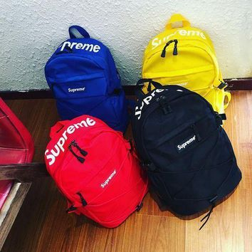 College Comfort Stylish Back To School Hot Deal On Sale Casual Sports Skateboard Backpack [415636160548]
