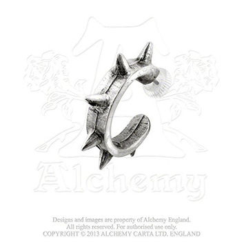 Spike Cuff Earring by Alchemy Gothic
