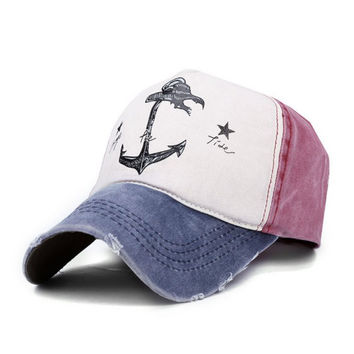 Anchor Snap back Hat