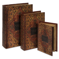Jarrow Book Box Collection Set of 3