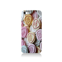 Love Heart Sweets iPhone case, iPhone 6 case, iPhone 4 case iPhone 4s case, iPhone 5 case 5s case and 5c case