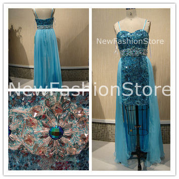 Sweetheart Strapless Beading Sequin Prom Dress Party Dress Homecoming Dress