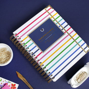 2015 Simplified Planner® DAILY Edition - Happy Stripe