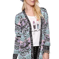 LA Hearts Pastel Tribal Cardigan at PacSun.com