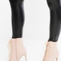 In Command Booties - Blush