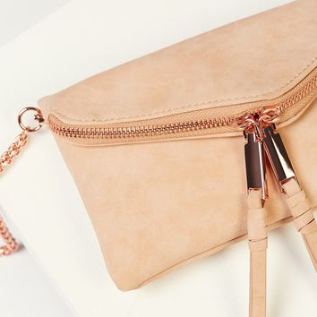 Free People Twin City Vegan Crossbody
