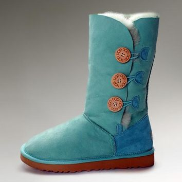Ugg Bailey Button Triplet 1873 Emerald Boots