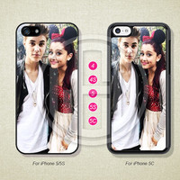 Ariana Grande Justin bieber , Phone Cases, iPhone 5S Case, iPhone 5 Case, iPhone 5C Case, iPhone 4 case, iPhone 4S case, Case--L51113