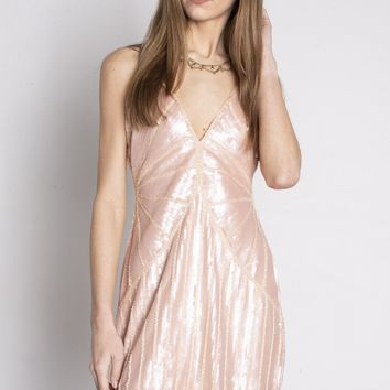 Mother Pearl Sequin Dress