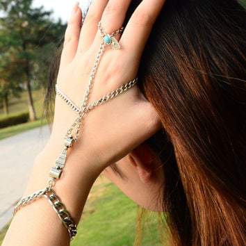 New Arrival Hot Sale Shiny Great Deal Gift Stylish Awesome Fashion Vintage Metal Tassels Bracelet [4918894596]